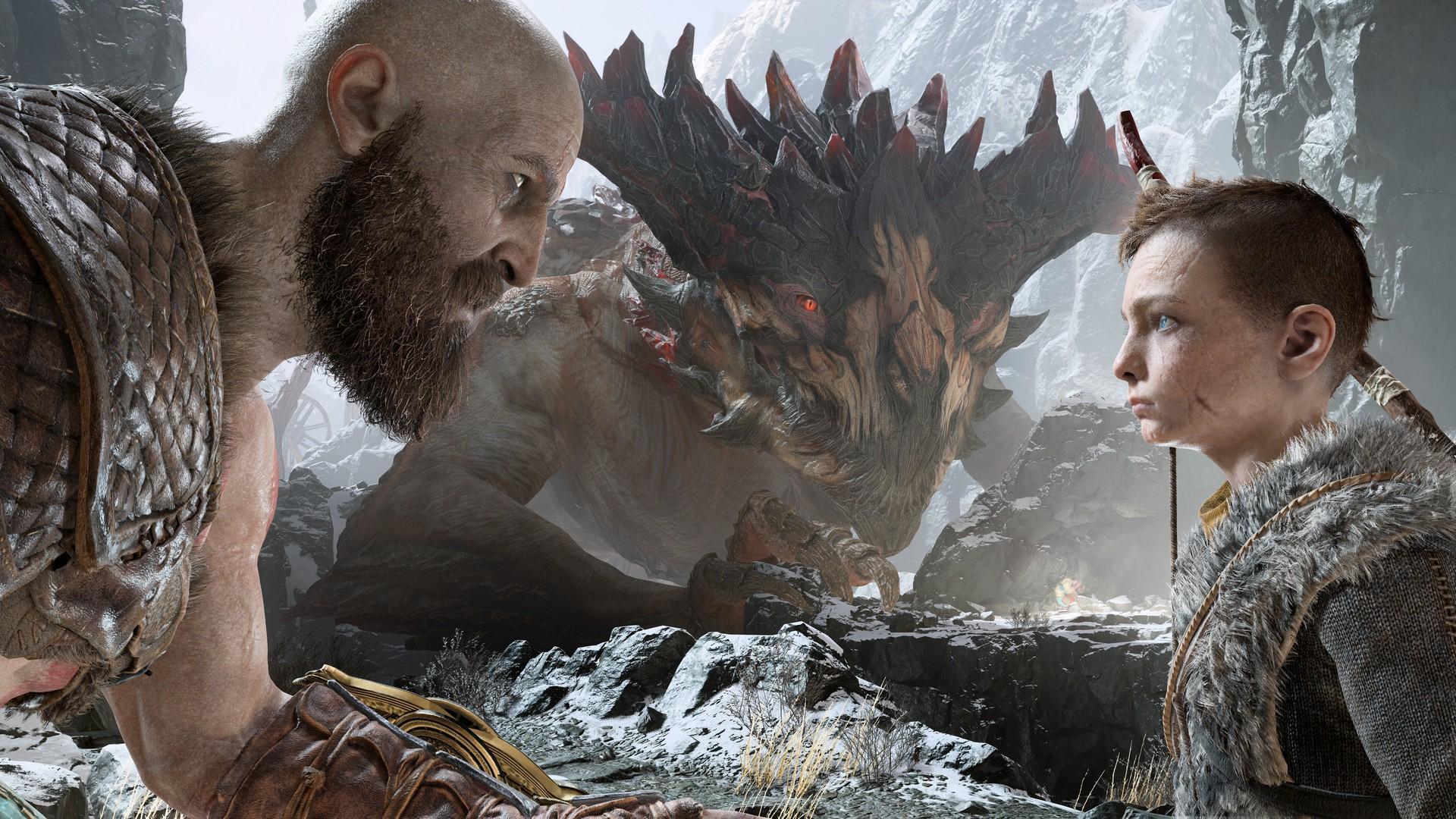 test-god-of-war-kratos-dragon-sony