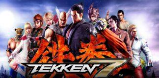 Les personnages de Tekken 7 avec le logo