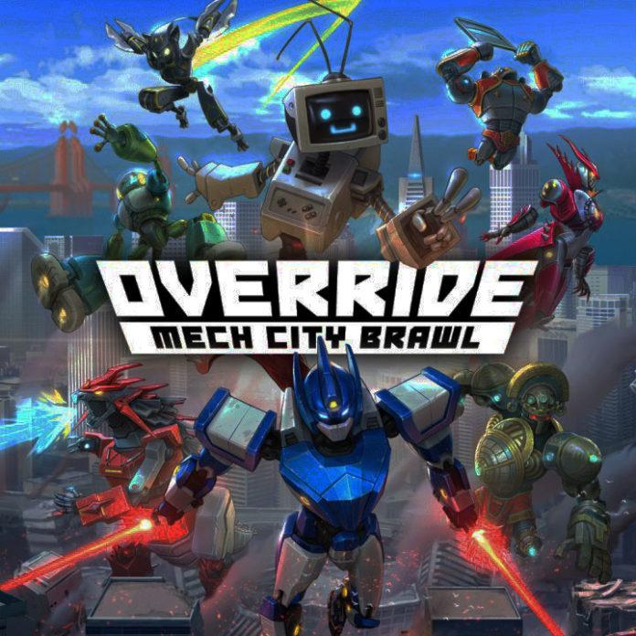 Le logo d'Override: Mech City Brawl