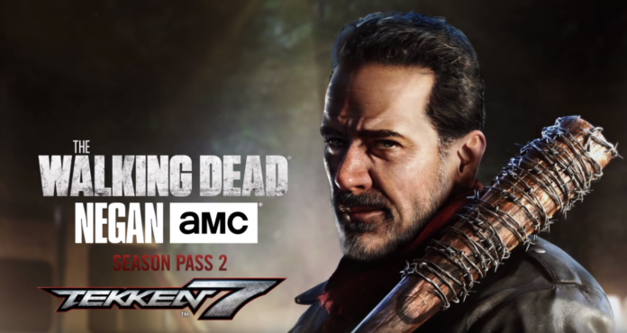 tekken-7-negan-julia-the-walking-dead