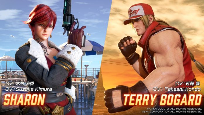 fighting_ex_layer_terry_sharon_bandes_annonces
