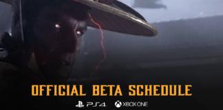 Le visage du personnage Raiden de Mortal Kombat 11 pour les précommandes du jeu