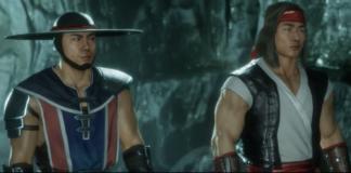 Kung Lao et Liu Kang jeunes dans Mortal Kombat 11