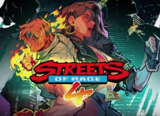 L'affiche de la bande-annonce de gameplay de Streets of Rage 4