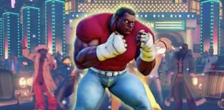 Balrog de Street Fighter V avec un costume Mike