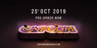 le logo du Capcom Home Arcade avec la date de sortie