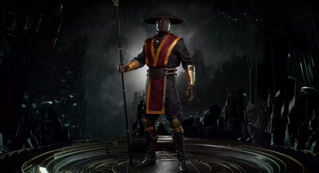Costume alternatif de Raiden dans Mortal Kombat 11