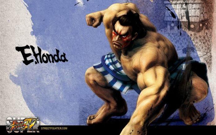 Le personnage honda dans Street Fighter IV