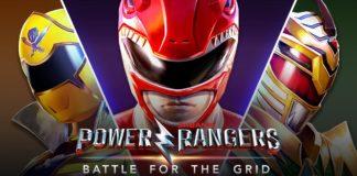 L'affiche du test de Power Rangers: Battle for the Grid