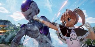Le personnage de Hunter X Hunter Biscuit Krueger avec Friezer dans Jump Force