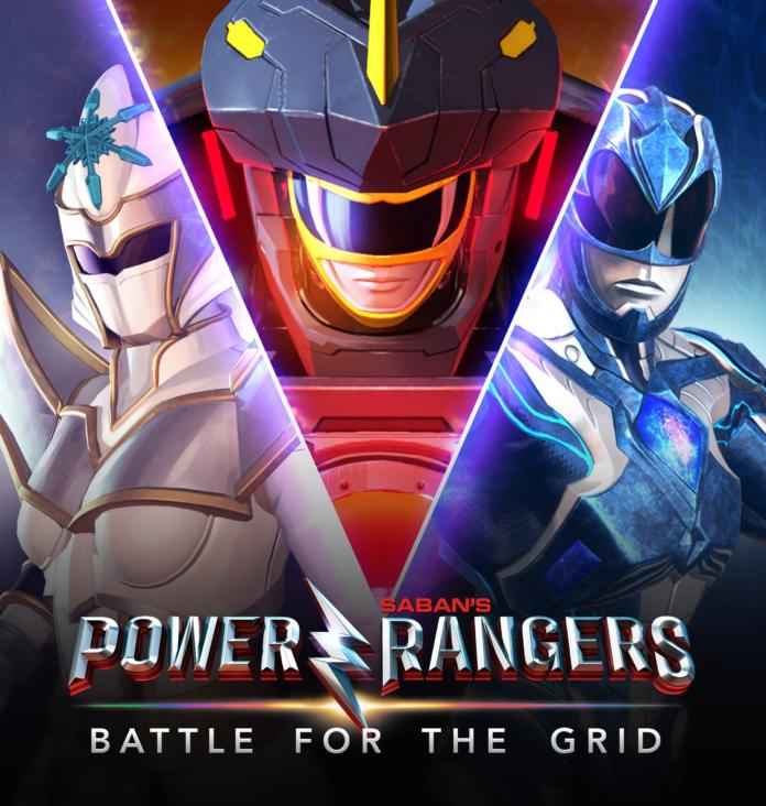Les trois nouveaux personnages additionnels de Power Rangers: Battle for the Grid à l'occasion de la mise à jour