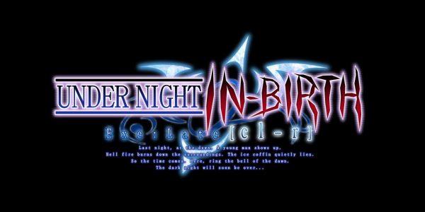 Le logo du prochain titre de la série Under Night In-Birth