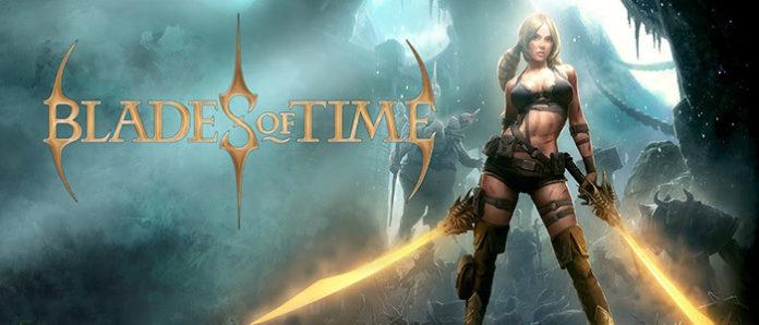 Le logo du remaster de Blades of Time sur Nintendo Switch