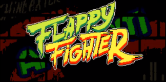Le logo du jeu de combat sur iPhone Flappy Fighter