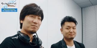Le joueur Daigo Umehara pendant une phase de test de Granblue Fantasy: Versus