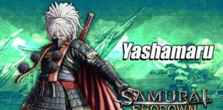 Le personnage Yashamaru Kurama dans sa bande-annonce sur Samurai Shodown