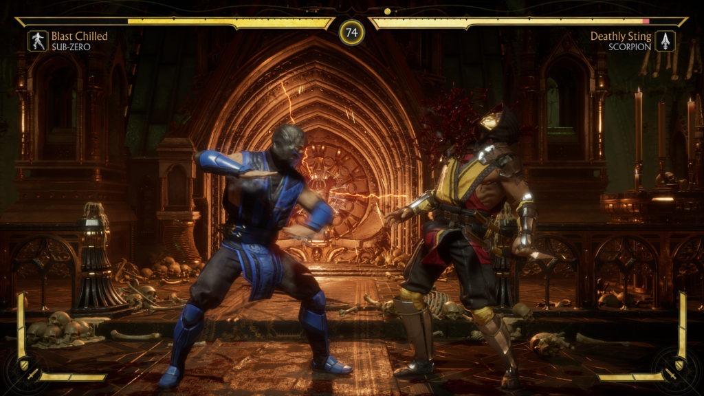 Sub Zero pour le test de Mortal Kombat 11