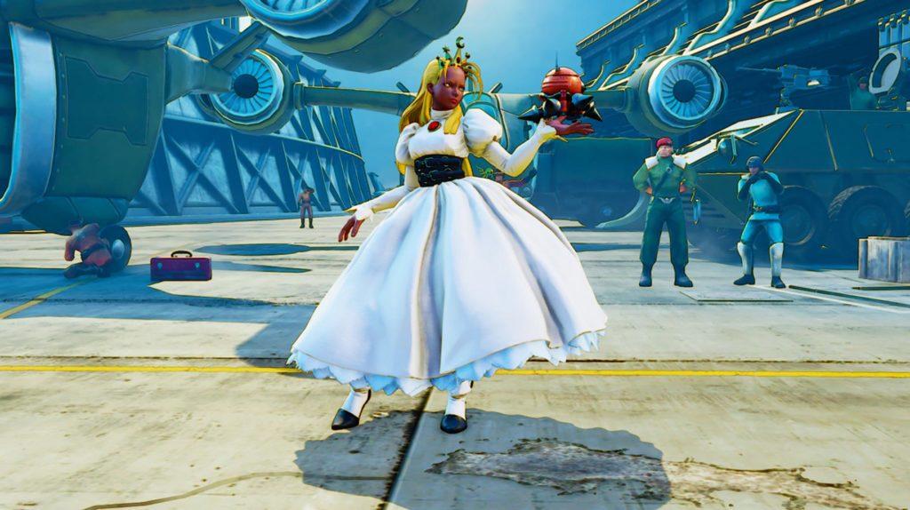 Le nouveau costume cyberbots de Karin dans Street Fighter V: Arcade Edition
