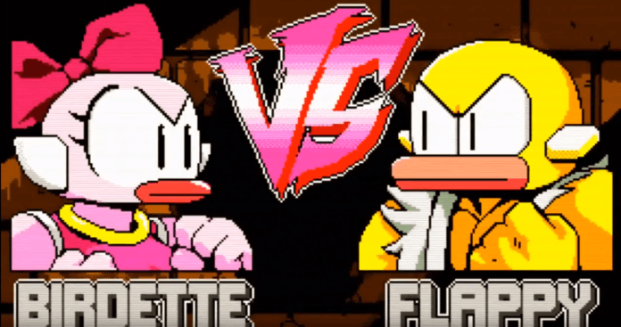 Le nouveau personnage de Flappy Fighter inspiré de Chun-Li : Birdette