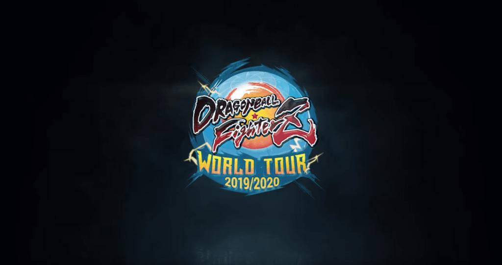 Le logo de la saison 2 du Dragon Ball FighterZ World Tour