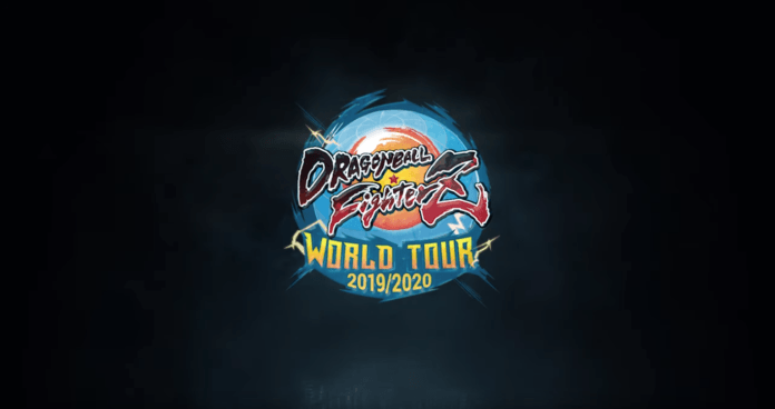 Le logo de la saison 2 du Dragon Ball FighterZ World Tour