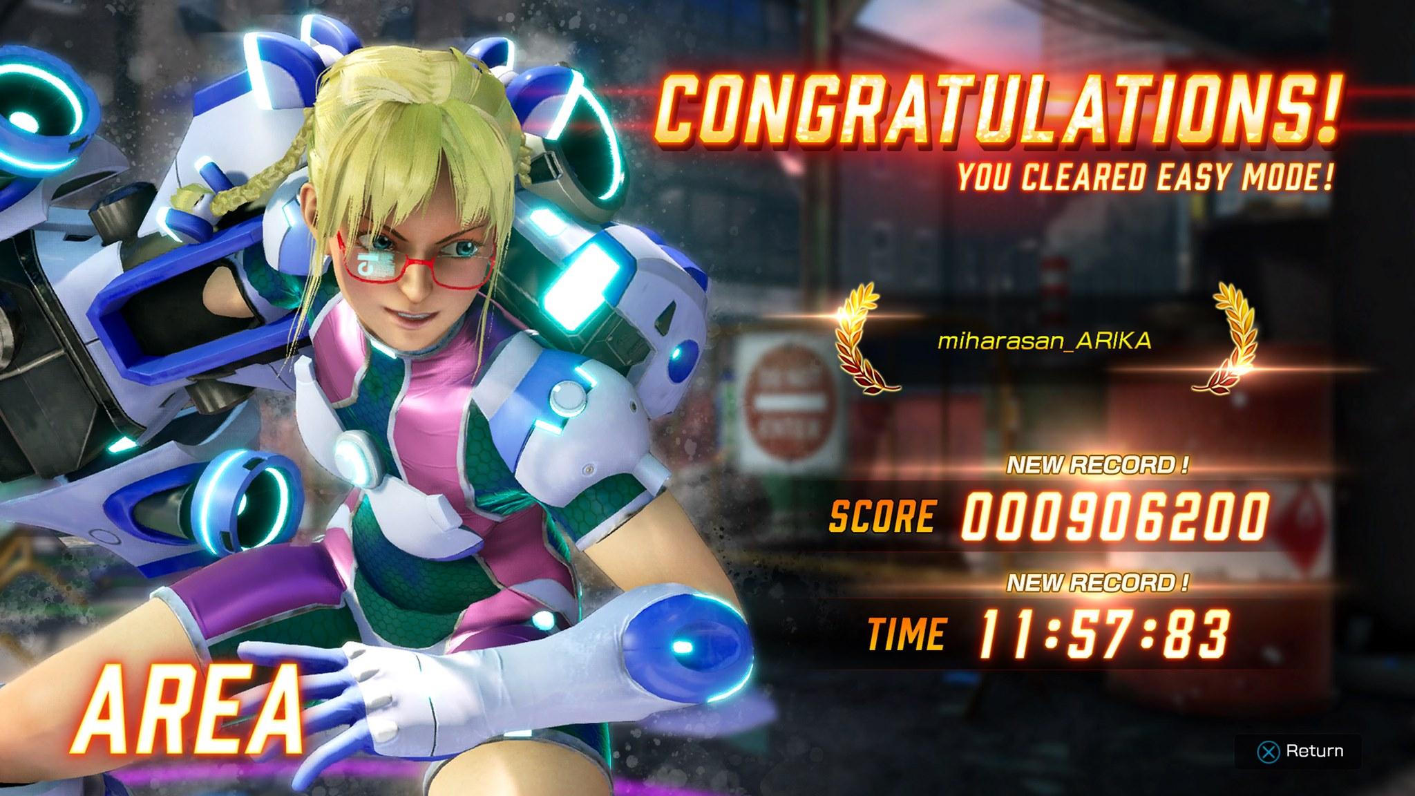 Le nouveau personnage de Fighting EX Layer Area pour la mise à jour 1.3.0