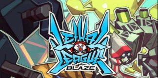 L'affiche de la version console du jeu Lethal League Blaze