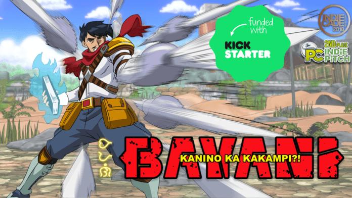 La couverture du jeu Bayani pour son Kickstarter