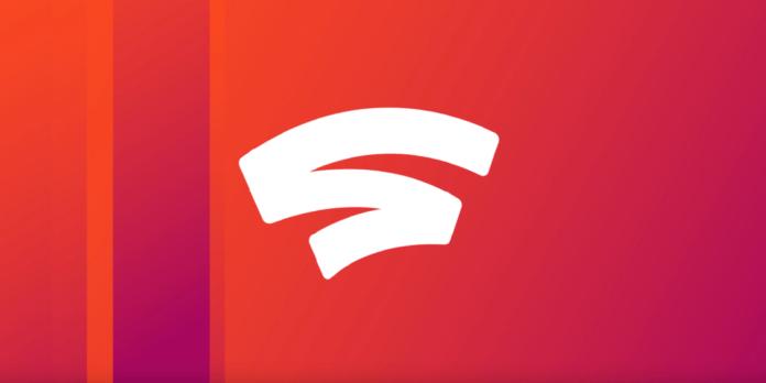 Le logo de la nouvelle plateforme de streaming de jeux vidéo Google Stadia