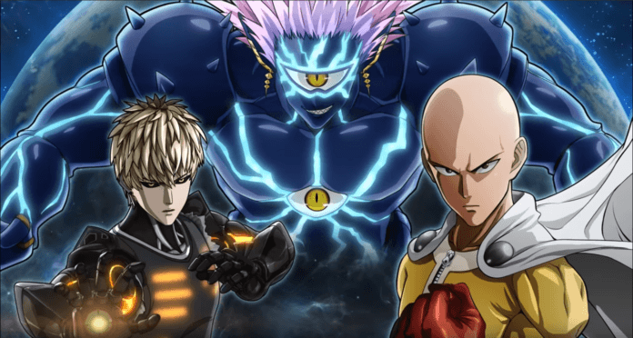 one punch man front