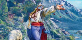 Le personnage Vega dans Street Fighter V: Arcade Edition