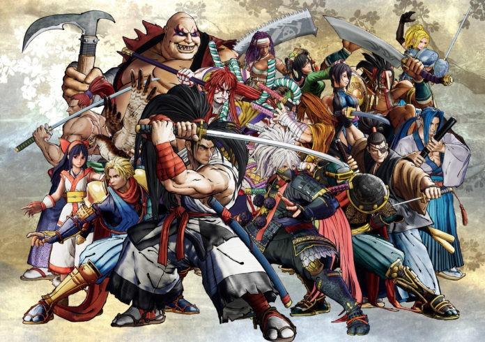 Tous les personnages de Samurai Shodown sur PS4