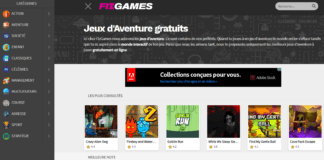 Une sélection de jeux d'aventure en ligne gratuits du site internet fizgames.com