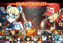 Les personnages Area et Terry de Fighting EX Layer dans le menu de sélection