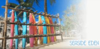 Image du niveau Seaside Eden dans le deuxième season pass de Dead or Alive 6