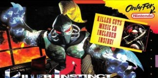 La boite du jeu Killer Instinct sur Super Nintendo