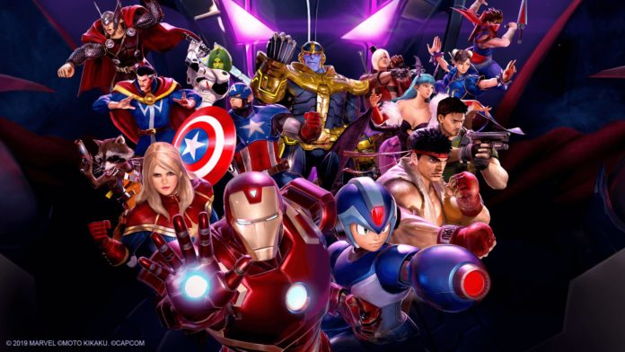 L'équipe du jeu Marvel vs Capcom Infinite