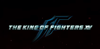 Le logo de The King of Fighters XV présenté par SNK lors de l'EVO 2019