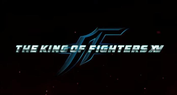 Le logo de The King of Fighters XV présenté par SNK lors de l'EVO 2019