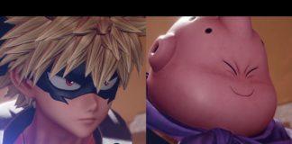 Les personnages en DLCs de Jump Force Katsuki Bakugo et Boubou