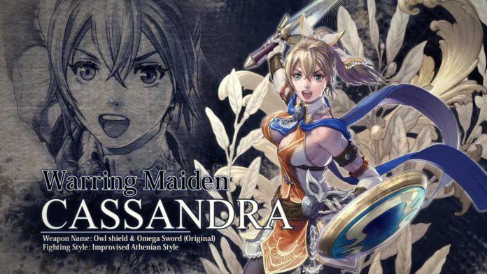 Le nouveau personnage de SoulCalibur VI Cassandra