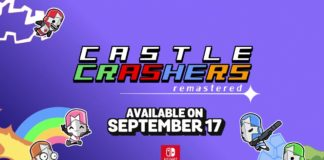 Le logo de Castle Crashers Remastered sur Nintendo Switch