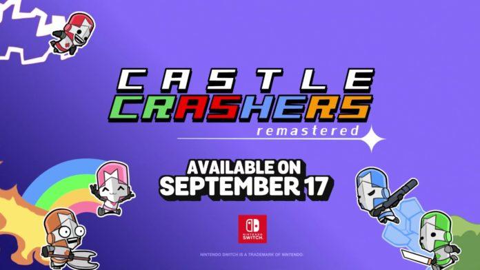 Le logo de Castle Crashers Remastered sur Nintendo Switch