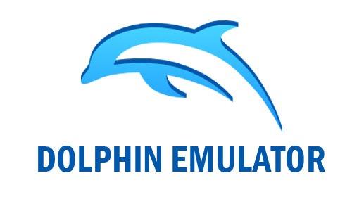 Le logo sur fond blanc de l'émulateur Wii Dolphin dans le guide de l'émulation console
