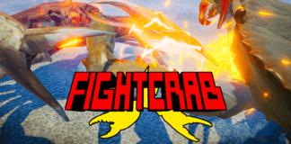 Le logo du jeu de combat Fight Crab