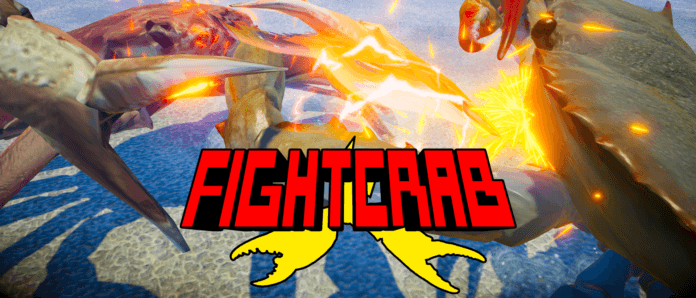 Le logo du jeu de combat Fight Crab