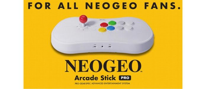 Le slogan du NeoGeo Arcade Stick Pro