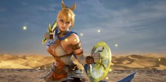 Le personnage Cassandra du jeu SoulCalibur VI à l'occasion des notes de patch de la version 1.51