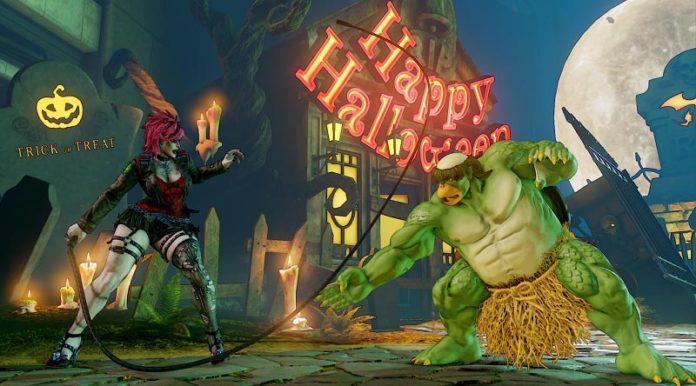 Halloween Street Fighter