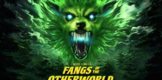 Un loup-garou vert avec pour titre Les Crocs de l'au-delà. Événement d'Halloween pour For Honor.